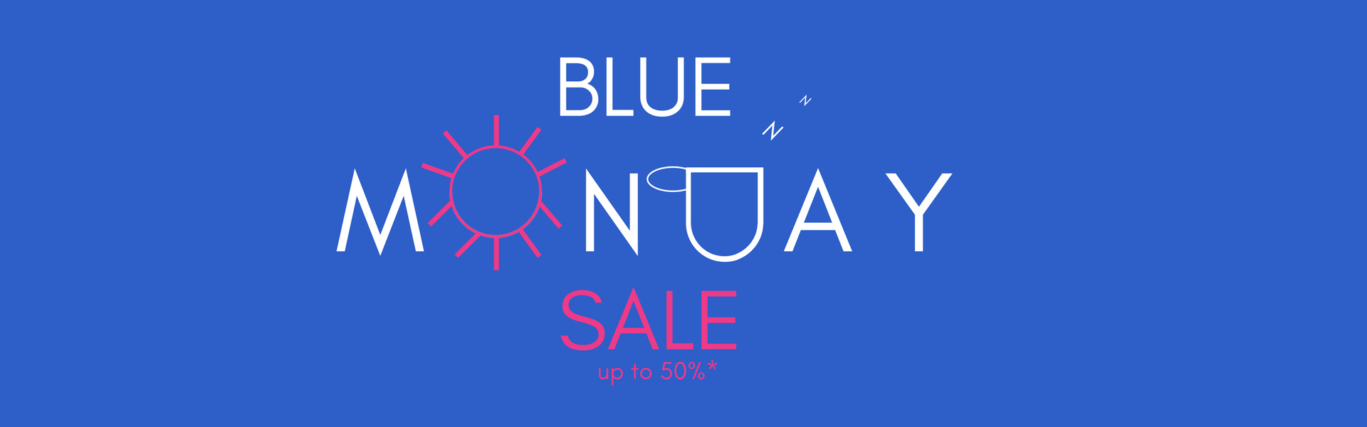 Blue Monday offer page