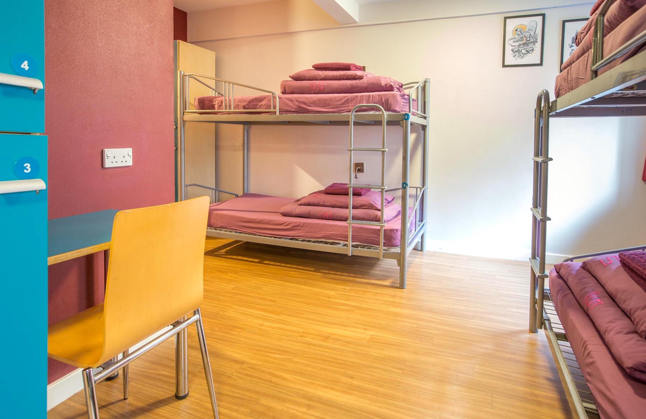 Safestay Edinburgh - Shared Dorm Rooms