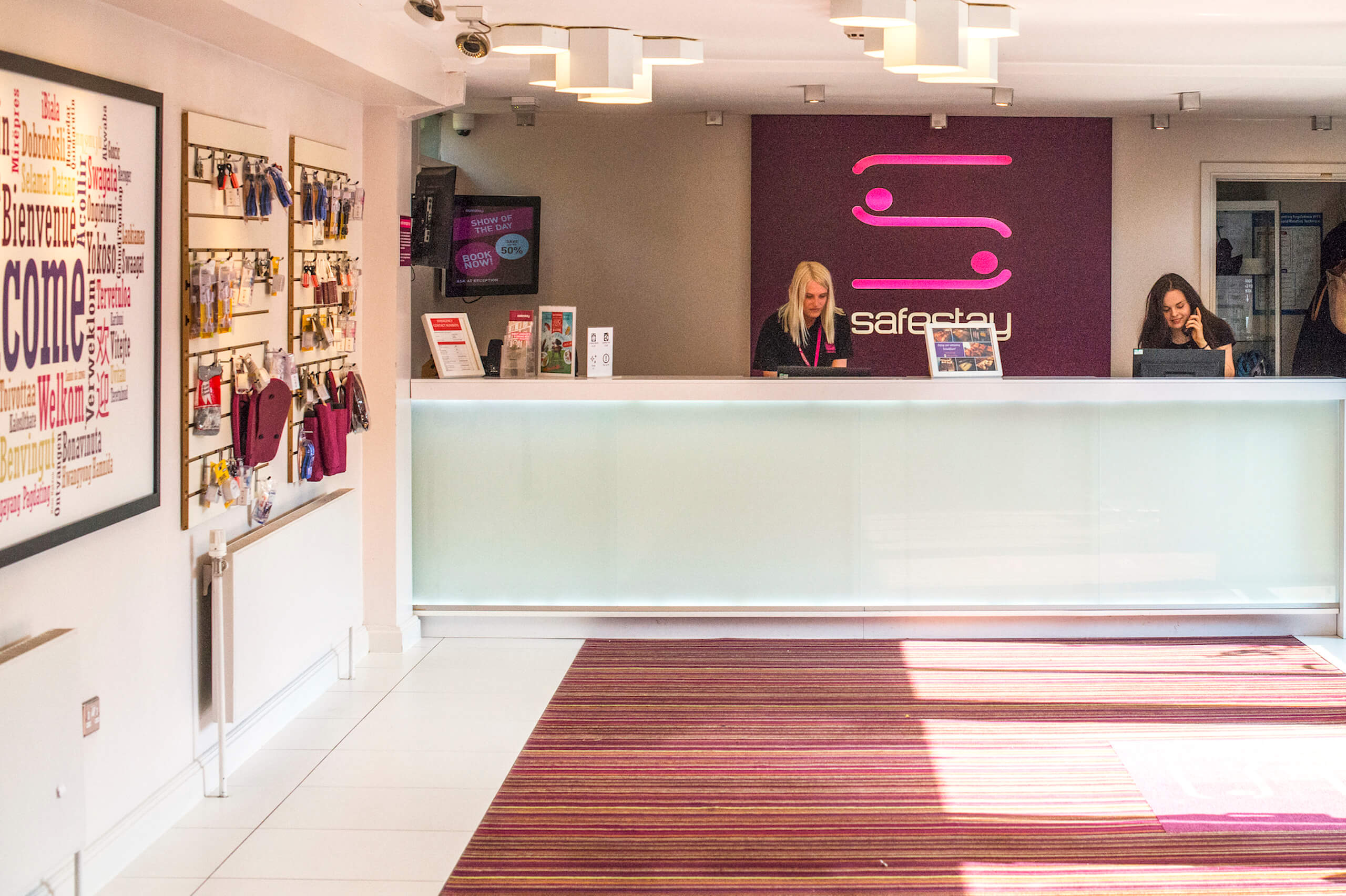 Safestay Kensington Holland Park - Reception