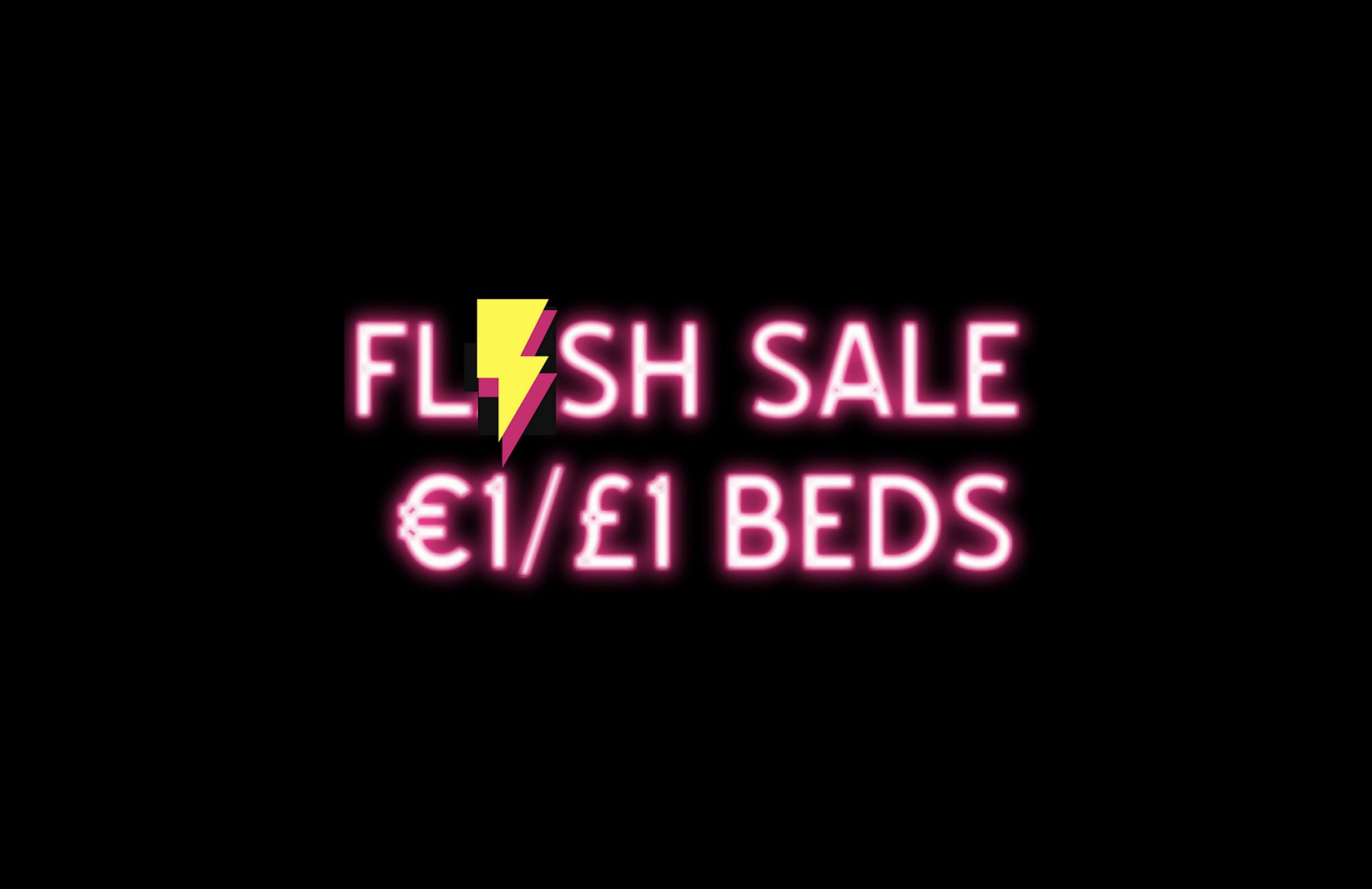 £1/€1 Flash Sale!