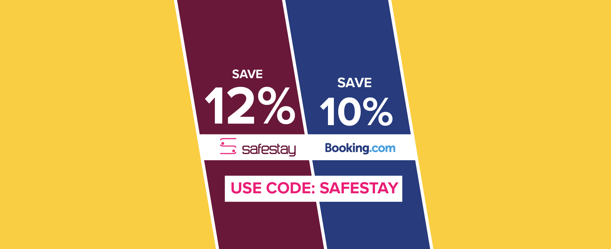 12% OFF your next booking!