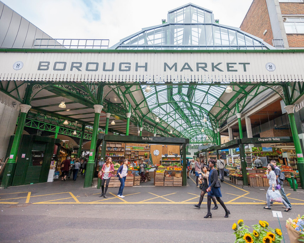 Check out Borough Market to refresh your taste buds!